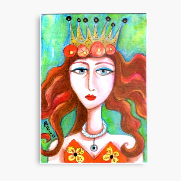 Queen of Everything Metal Print