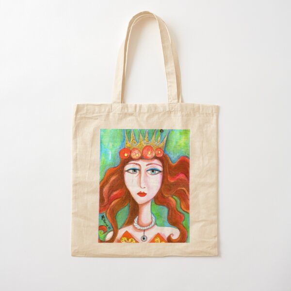 Queen of Everything Cotton Tote Bag