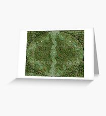 Crop Circles Greeting Card