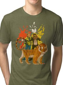 DR2 Co-op Nova & Sp00n Tri-blend T-Shirt