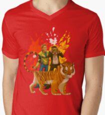 DR2 Co-op Nova & Sp00n Men's V-Neck T-Shirt