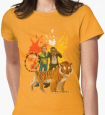 DR2 Co-op Nova & Sp00n Womens Fitted T-Shirt