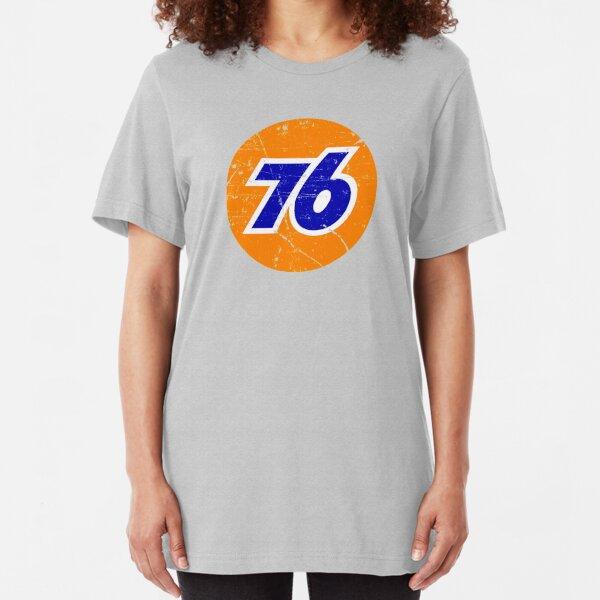 76 Gasoline Slim Fit T-Shirt