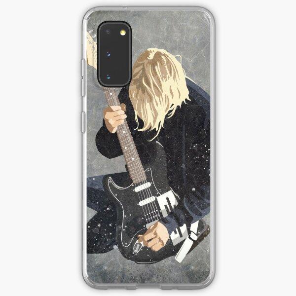 Grunge Vector Portrait Samsung Galaxy Soft Case