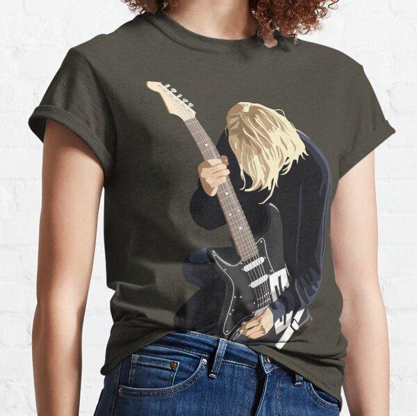 Grunge Vector retrato Camiseta clásica