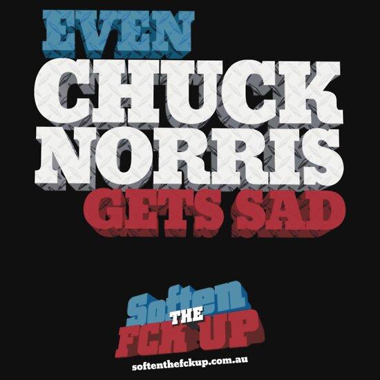 TShirtGifter presents: Softenthefckup Chuck Norris Shirt