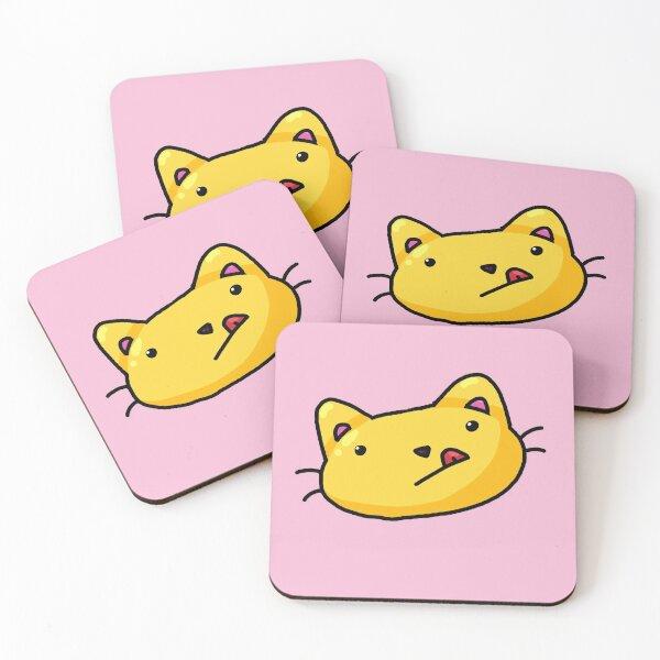 Doof cat Coasters (Set of 4)