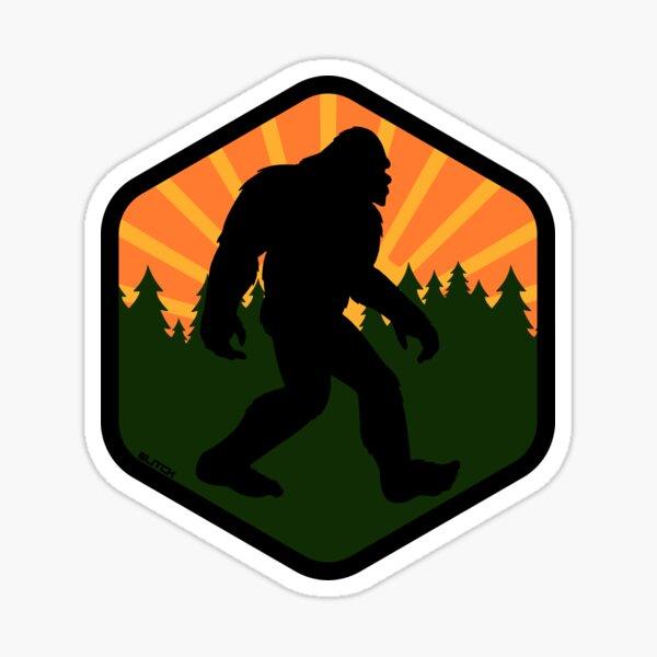 Bigfoot Wilderness Sticker
