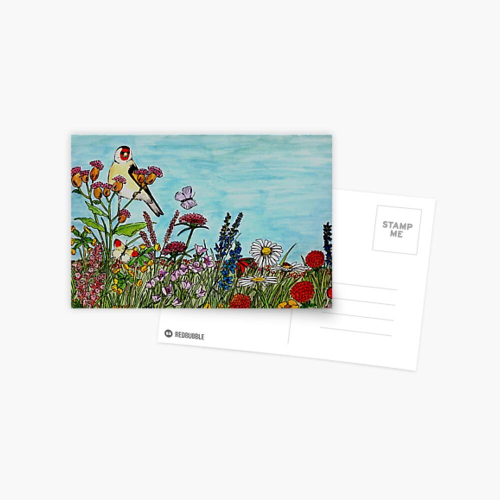 Flower Meadow - Postcard Postcard