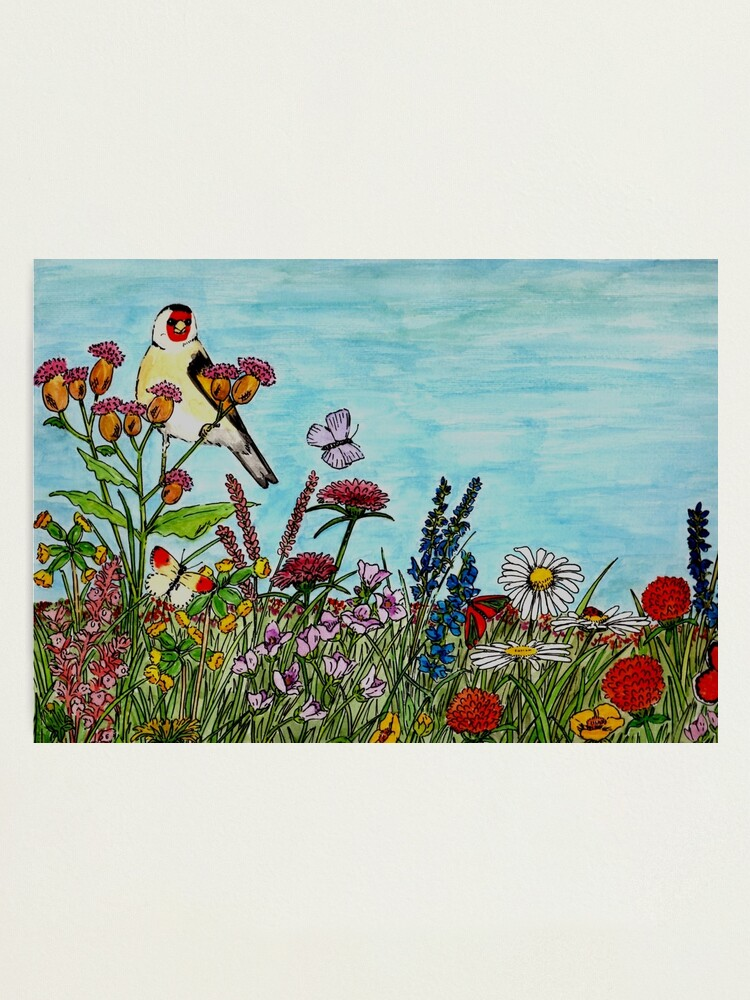 Alternate view of Flower Meadow - Wall Art Photographic Print