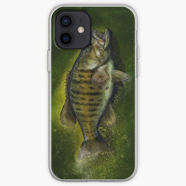 The Smallmouth Bass iPhone Soft Case