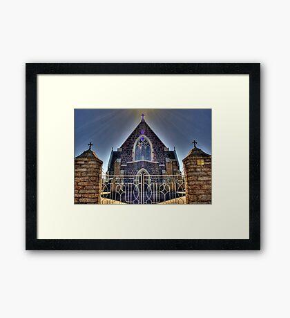 Saint Patrick's- Boorowa Framed Print