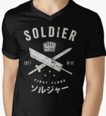SOLDIER Mens V-Neck T-Shirt