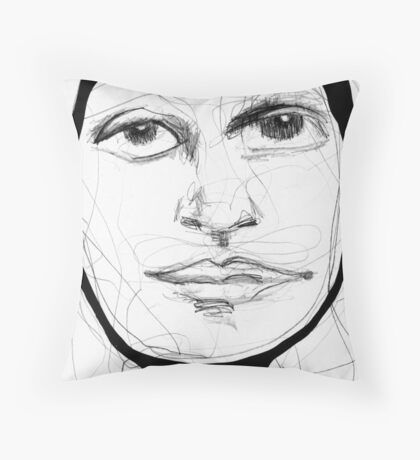 wetsuit Throw Pillow