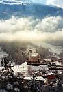 Switzerland - From the Train by Debbie Pinard