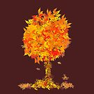 Queen Of Autumn by scatharis