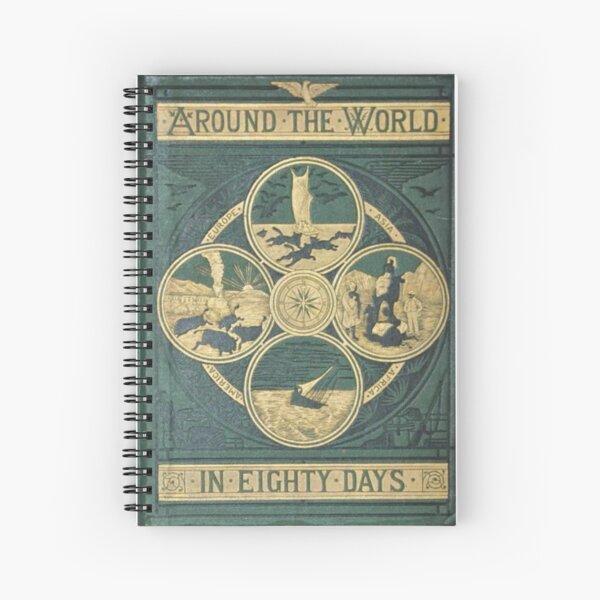 Le tour du monde en quatre-vingt jours Jules Verne Cahier à spirale