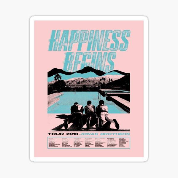 jonas x happiness Sticker