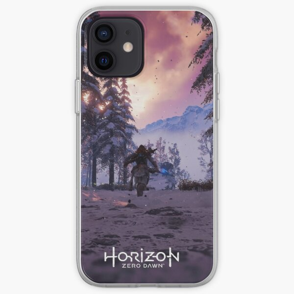 Horizon Zero Dawn Cinematic Poster 'Winter Run' iPhone Soft Case