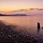 Blue Anchor Bay, Somerset by Giles Clare