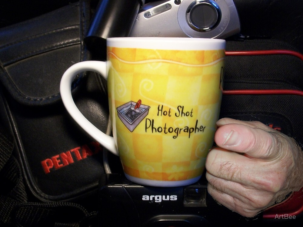 Hot Shot Photographer by ArtBee