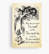 Wandbilder Lewis Carroll Redbubble