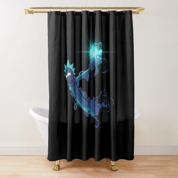 Rick Sanchez Blast em! Shower Curtain