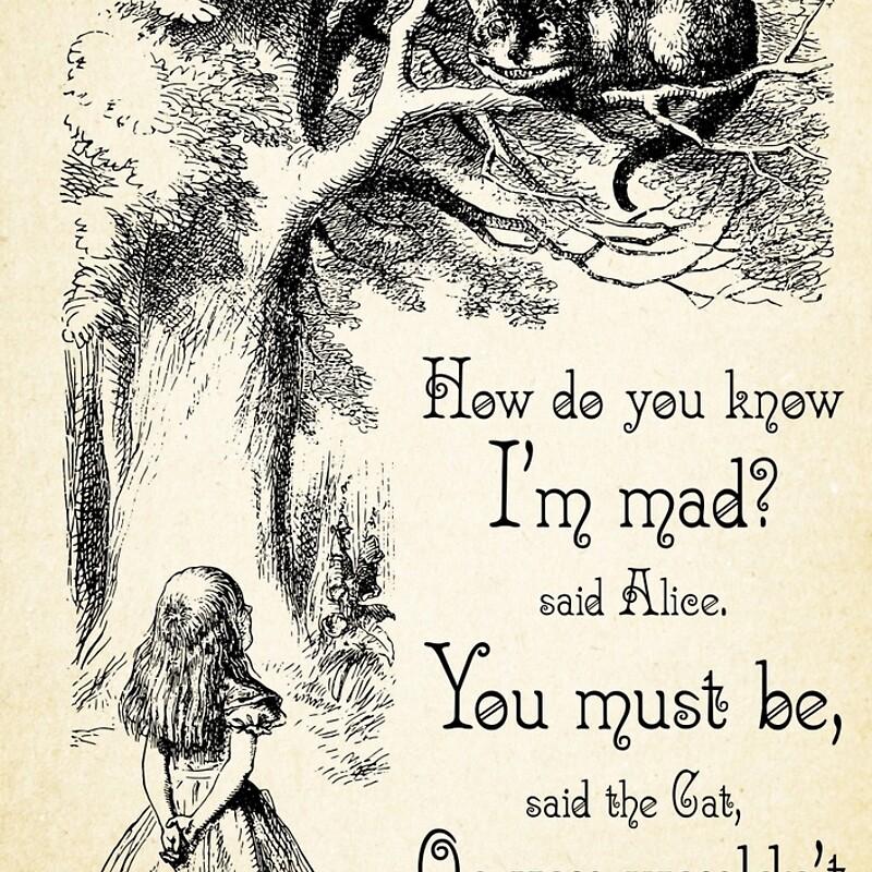 Alice In Wonderland Caterpillar Quotes: The Gallery For --> Quotes From The Cat In Alice In Wonderland