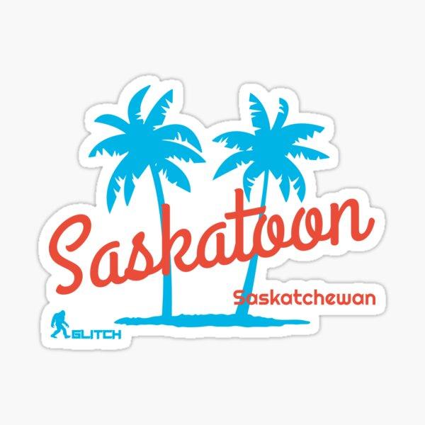 Saskatoon Paradise  Sticker