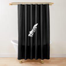 Nasa Vinatge Shower Curtain