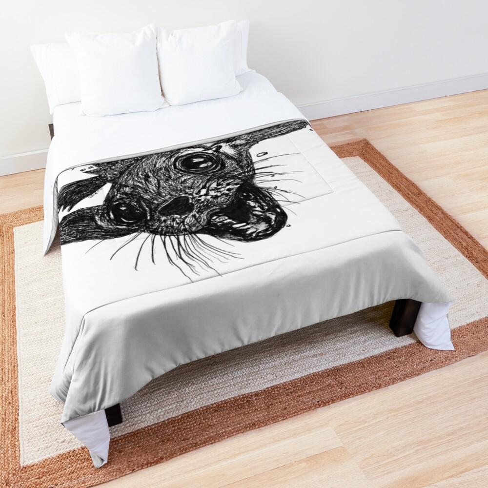 Dom the Australian Fur Seal  Comforter