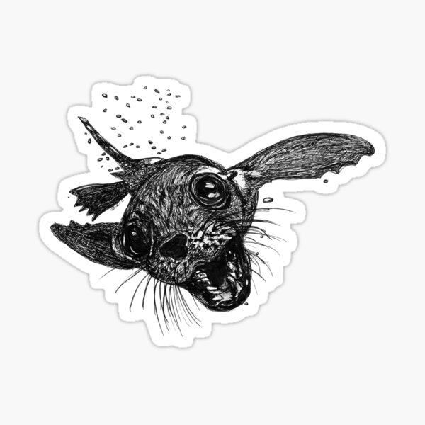 Dom the Australian Fur Seal  Sticker