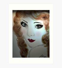 """Lillian"" Art Print"