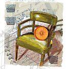 Cinderella Chair by Alma Lee
