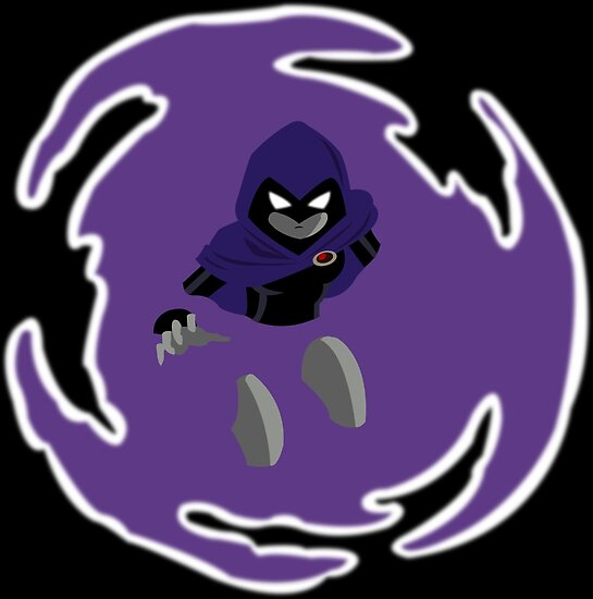 Teen Titans - Raven breaks through von MonkeyLi