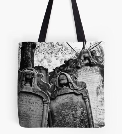 Leaning Graves Tote Bag