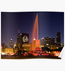 Chicago Blackhawks  Stanley Cup Champs Poster