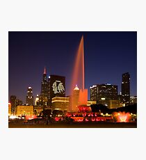 Chicago Blackhawks  Stanley Cup Champs Photographic Print