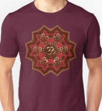 Aum Mandala - Goa Psytrance inspired Unisex T-Shirt