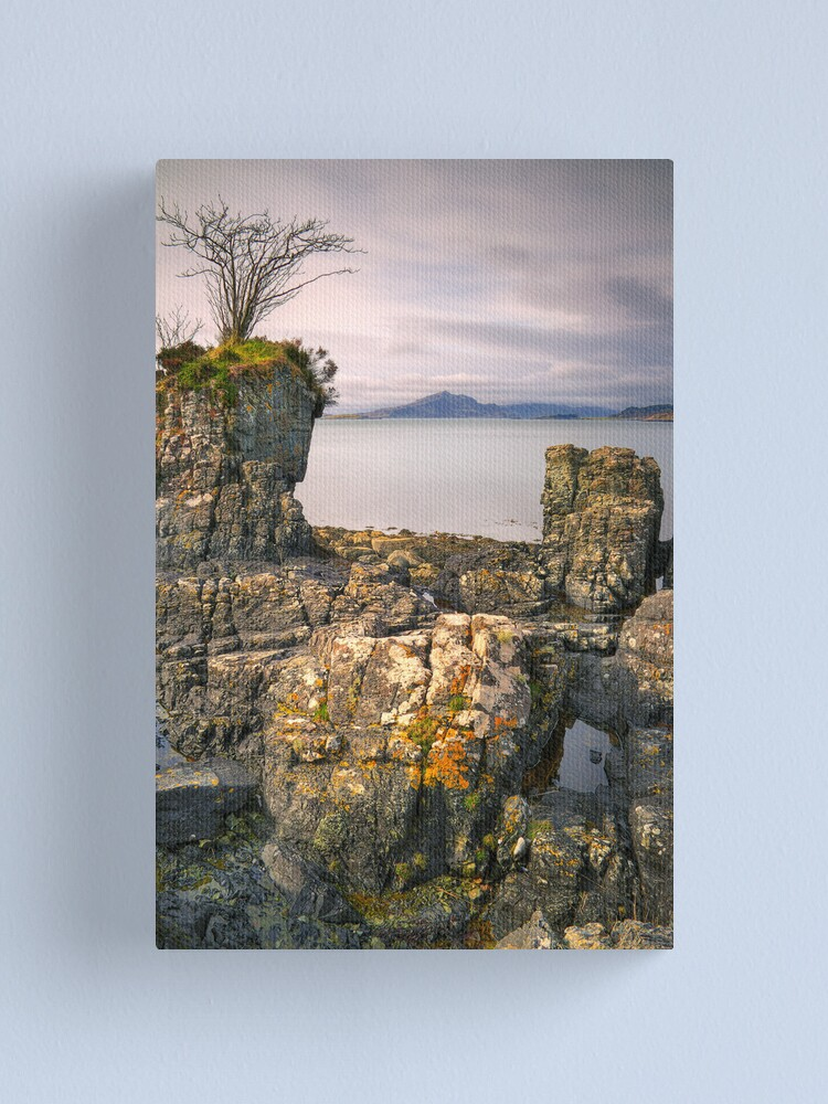 Alternate view of The Painted Rocks (2) Canvas Print
