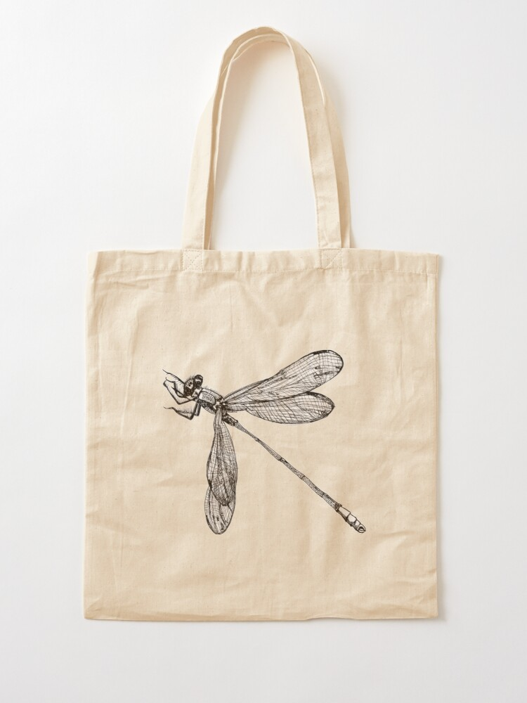 Alternate view of Lynette the Dragonfly  Tote Bag