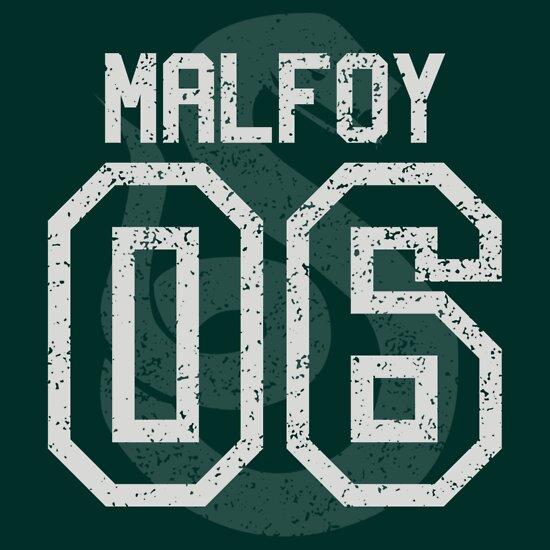 TShirtGifter presents: Malfoy Quidditch Jersey
