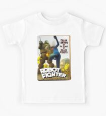 Robot Fighter Fake Pulp Cover 2 Kids Clothes