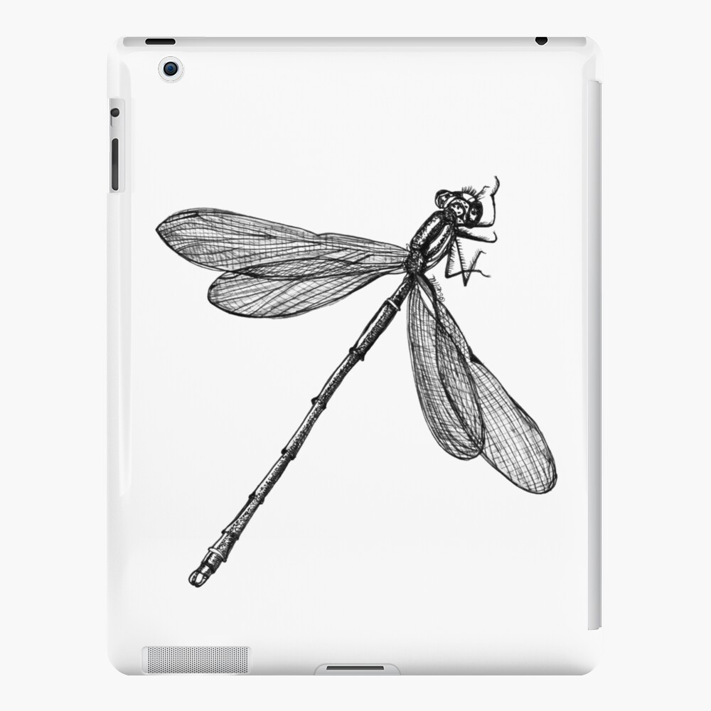 Eve the Dragonfly on the way up iPad Case & Skin