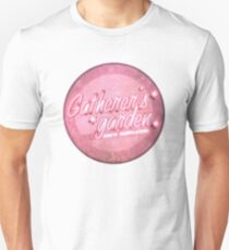 BioShock – Gatherer's Garden Genetic Modifications Logo (Bright Pink) Unisex T-Shirt