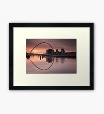 Millenium Sunrise Framed Print