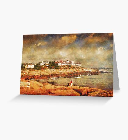 Cape Neddick Greeting Card