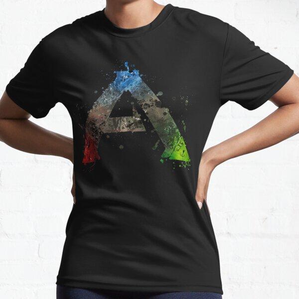 Ark Survival Evolved Splatter  Active T-Shirt