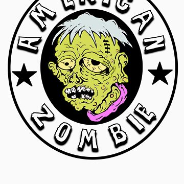 American Zombie Circle Face Part 2 by americanzombie