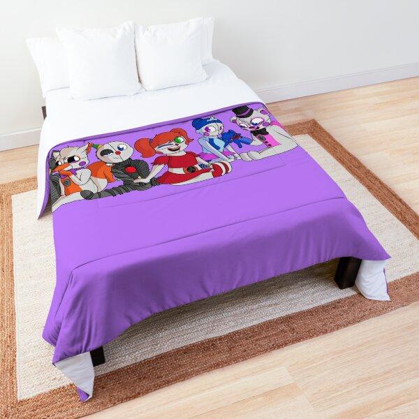 FNaF Sister Location Chibi Group Comforter